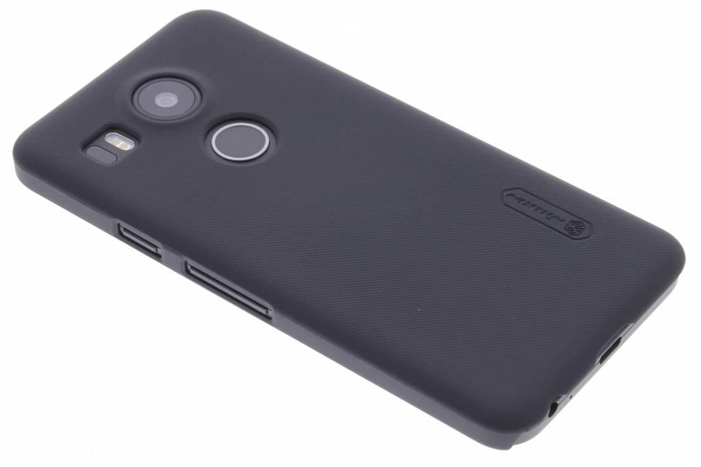 Frosted Shield hardcase hoesje voor de LG Nexus 5X - Zwart