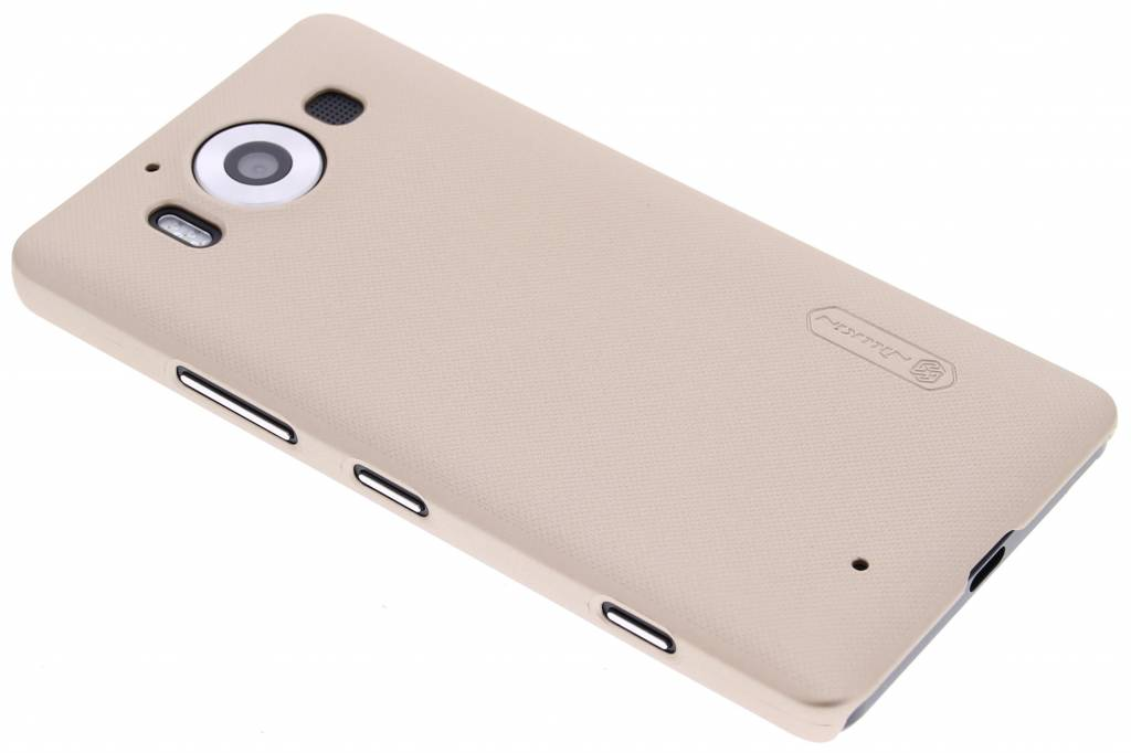 Nillkin Frosted Shield hardcase hoesje voor de Microsoft Lumia 950 - Goud