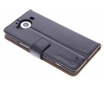Selencia Luxe lederen Booktype Microsoft Lumia 950
