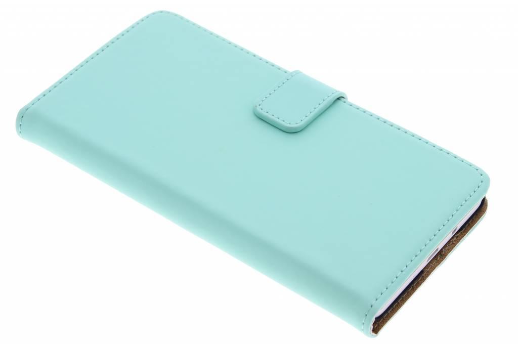 Selencia Luxe Book Case voor de Samsung Galaxy A7- Mintgroen