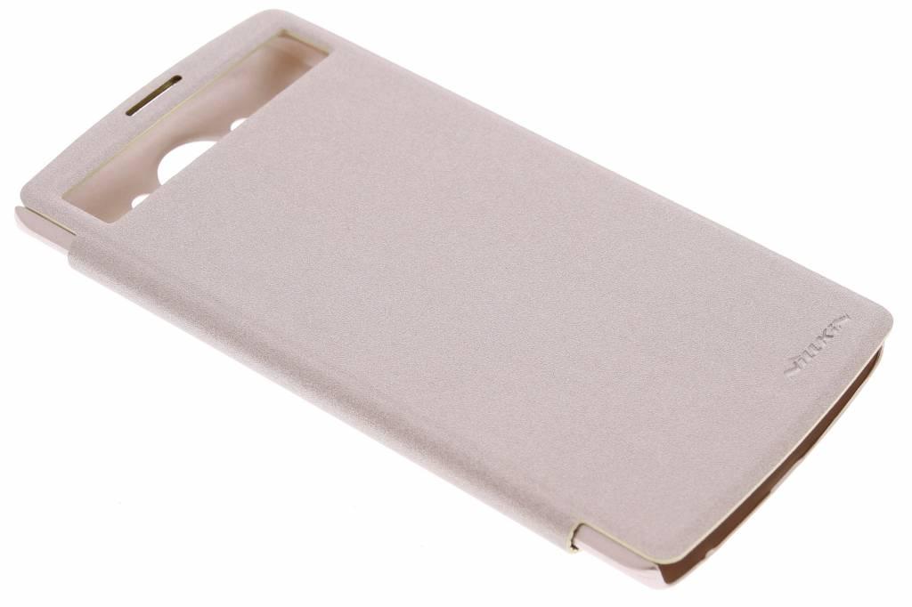 Nillkin New Leather Case voor de LG V10 - Goud