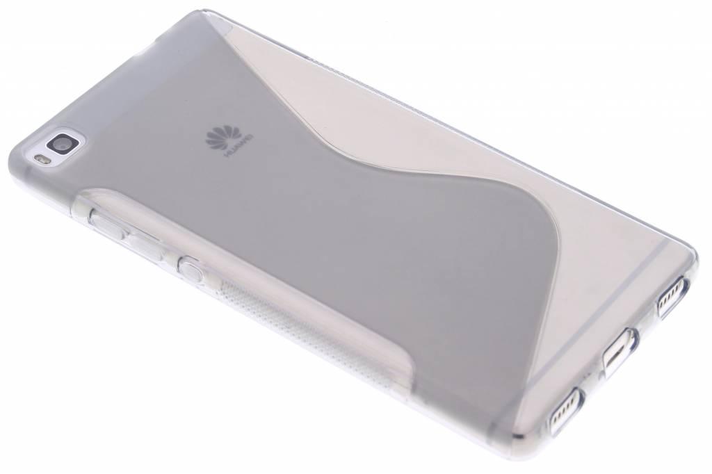 Grijs S-line TPU hoesje voor de Huawei P8