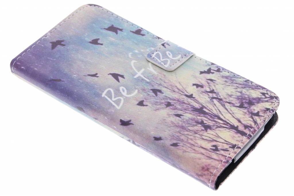 Be free design TPU booktype hoes voor de Acer Liquid Z630