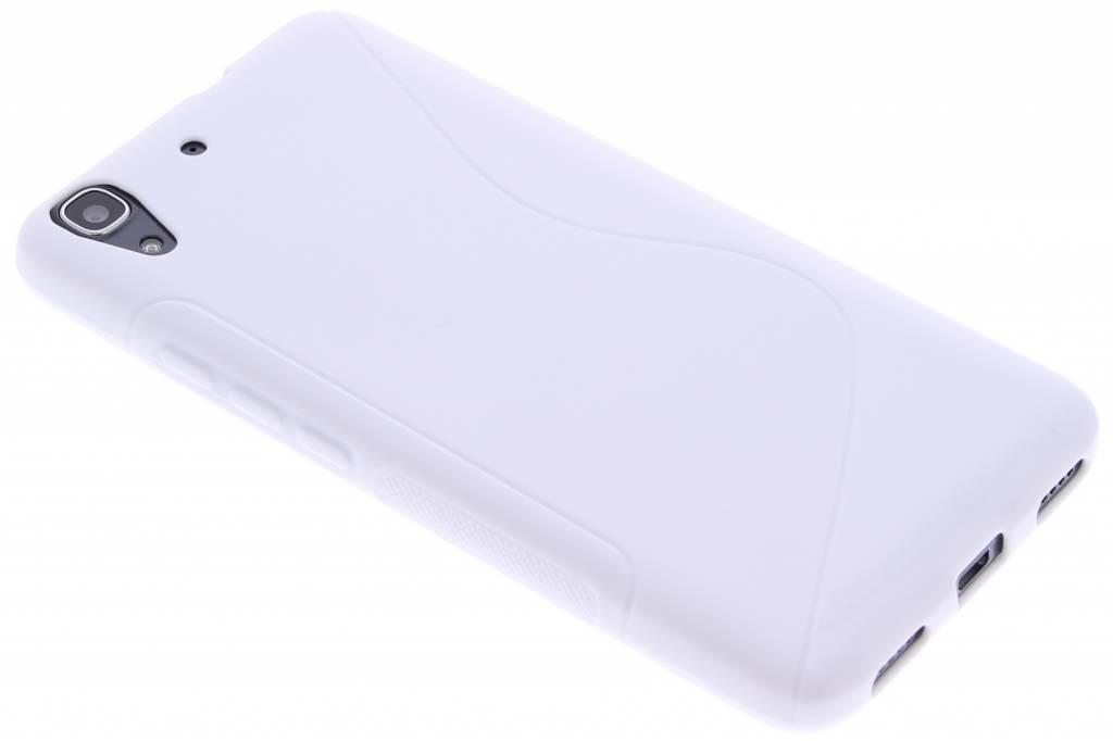 Wit S-line TPU hoesje voor de Huawei Y6