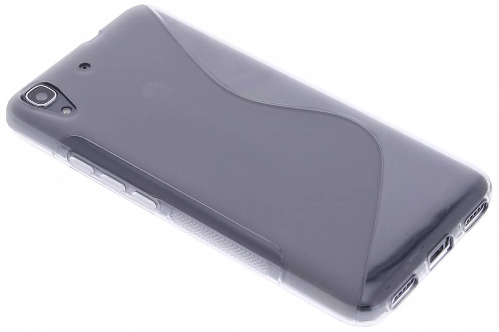 Grijs S-line TPU hoesje voor de Huawei Y6