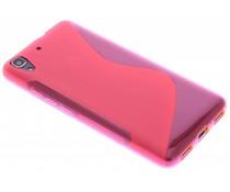 Rosé S-line TPU hoesje Huawei Y6