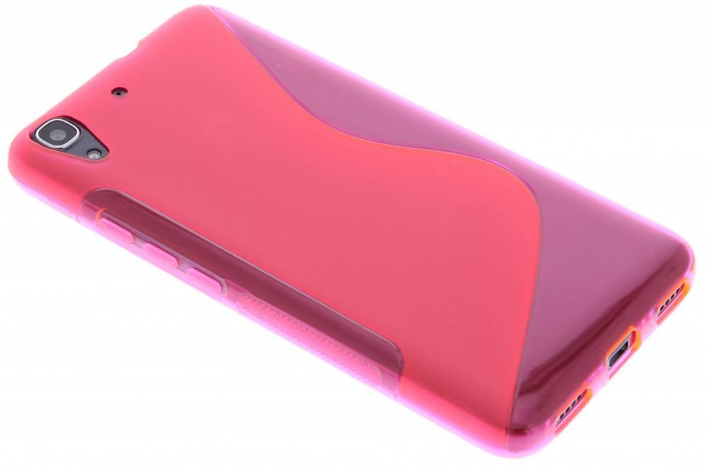Rosé S-line TPU hoesje voor de Huawei Y6