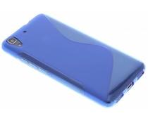 Blauw S-line TPU hoesje Huawei Y6