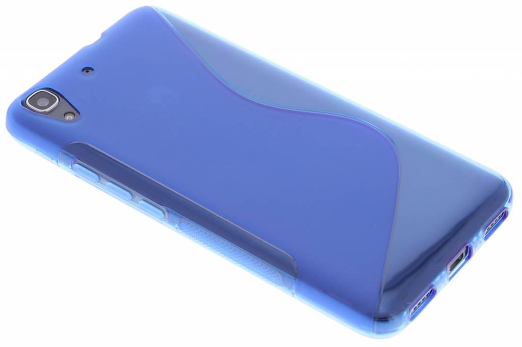 Blauw S-line TPU hoesje voor de Huawei Y6