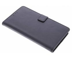 Zwart luxe leder booktype hoes Lumia 950 XL