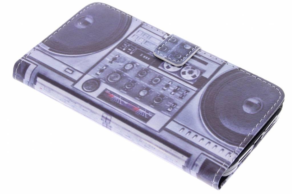 Radio design TPU booktype hoes voor de Huawei G8