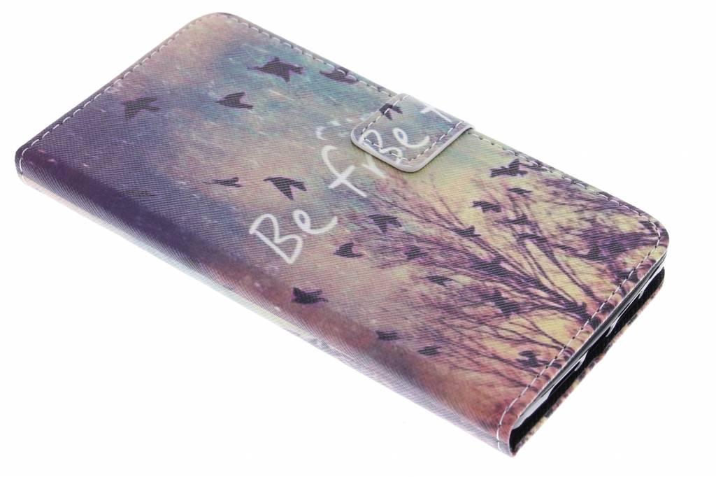 Be free design TPU booktype hoes voor de OnePlus 2