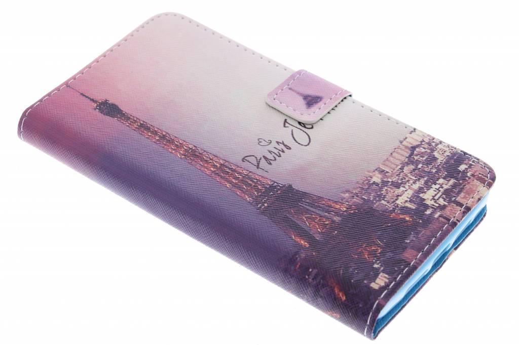 Parijs design TPU booktype hoes voor de OnePlus 2