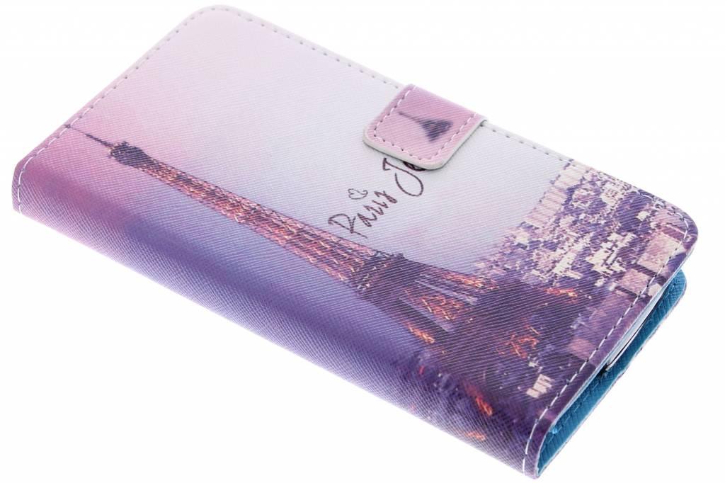 Parijs design TPU booktype hoes voor de Acer Liquid Z530