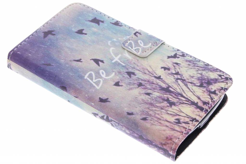 Be free design TPU booktype hoes voor de Acer Liquid Z530