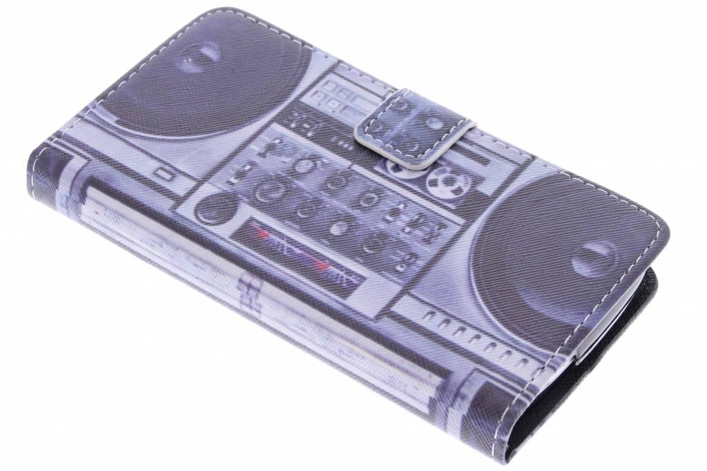 Radio design TPU booktype hoes voor de Acer Liquid Z530