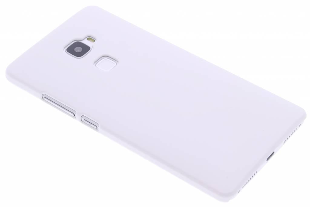 Wit effen hardcase hoesje voor de Huawei Mate S