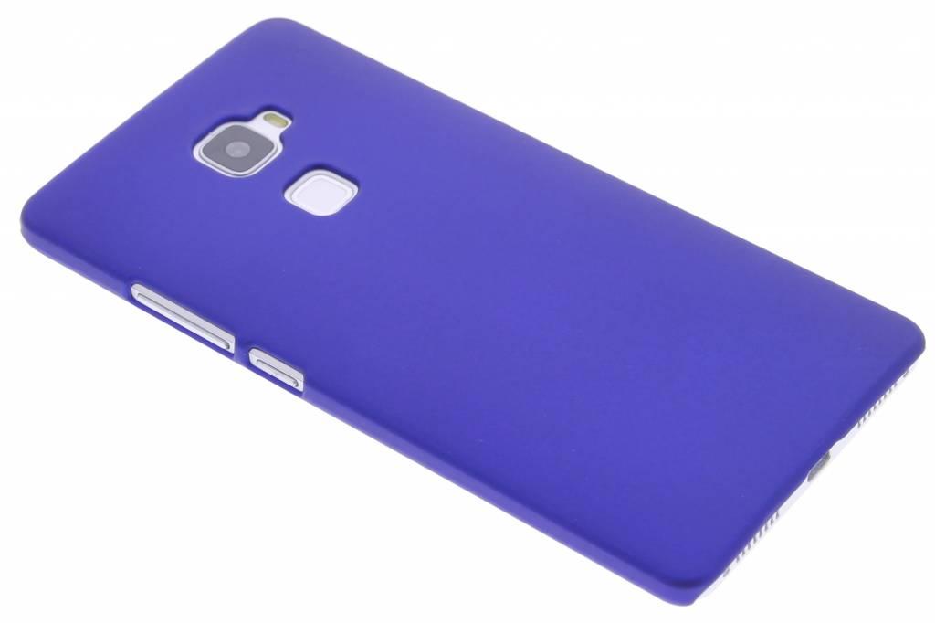Blauw effen hardcase hoesje voor de Huawei Mate S