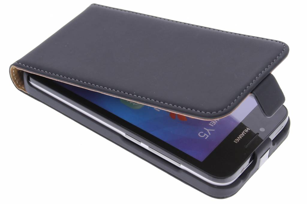 Mobiparts Premium Flip Case Huawei Y5 Zwart