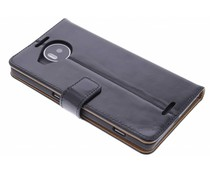 Selencia Luxe leder booktype hoes Microsoft Lumia 950 XL