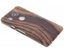Hout design hardcase hoesje LG Nexus 5X