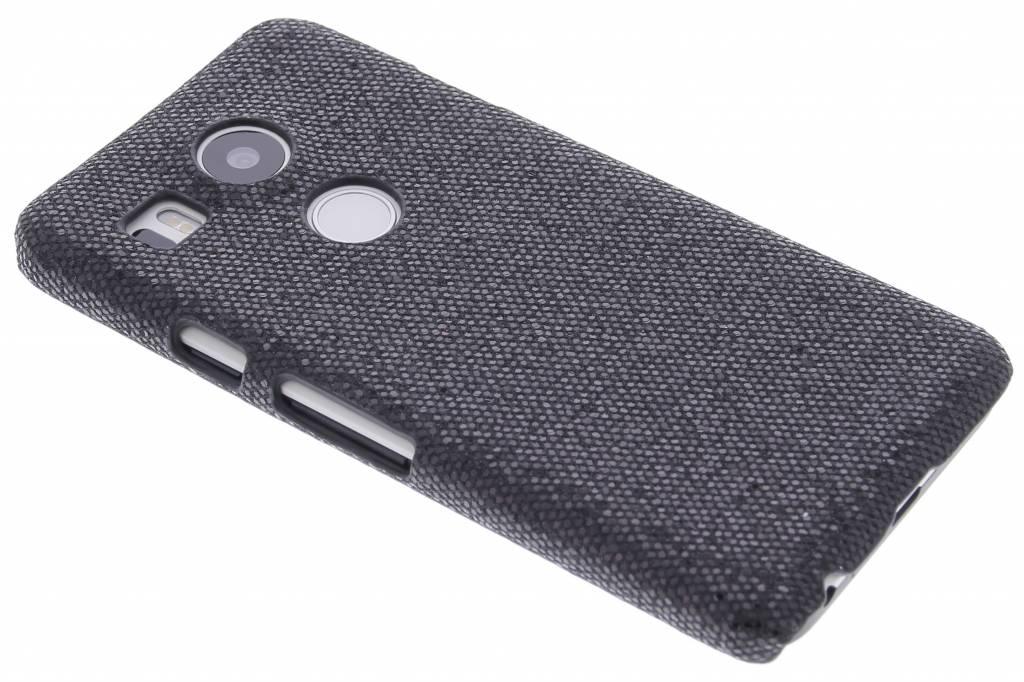 Zwart glamour design hardcase hoesje voor de LG Nexus 5X