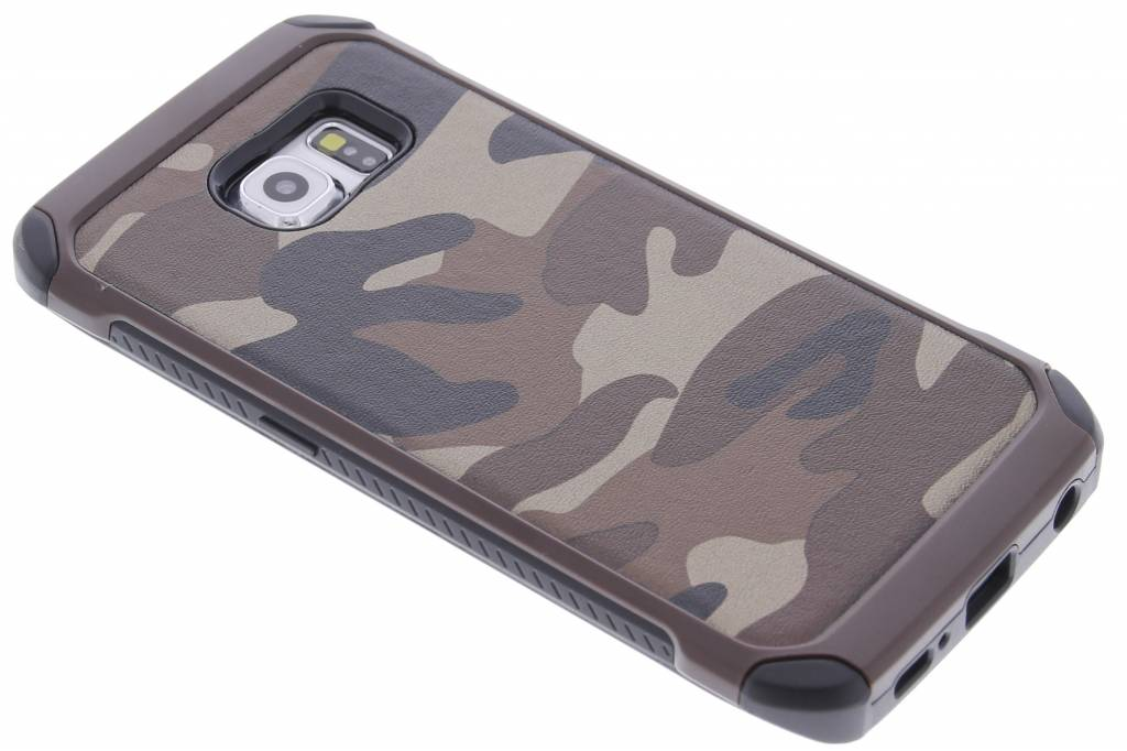 Bruin army defender hardcase hoesje voor de Samsung Galaxy S6 Edge