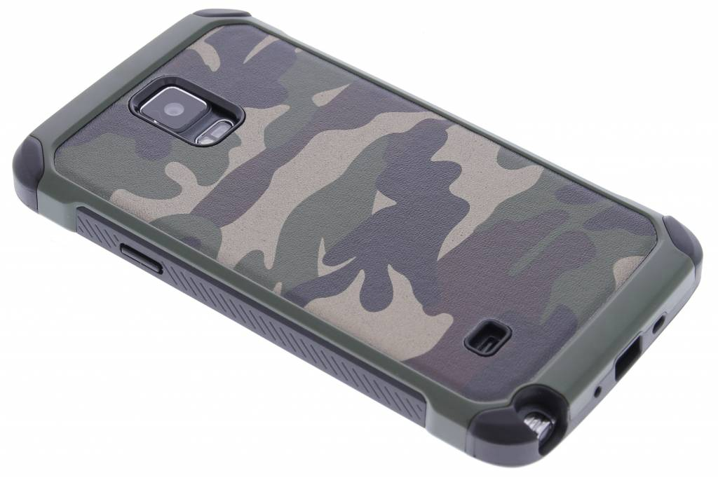 Groen army defender hardcase hoesje voor de Samsung Galaxy Note 4