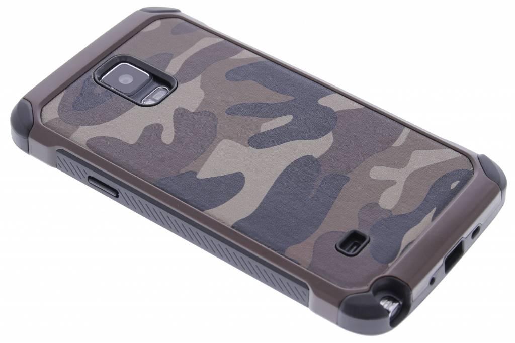 Bruin army defender hardcase hoesje voor de Samsung Galaxy Note 4