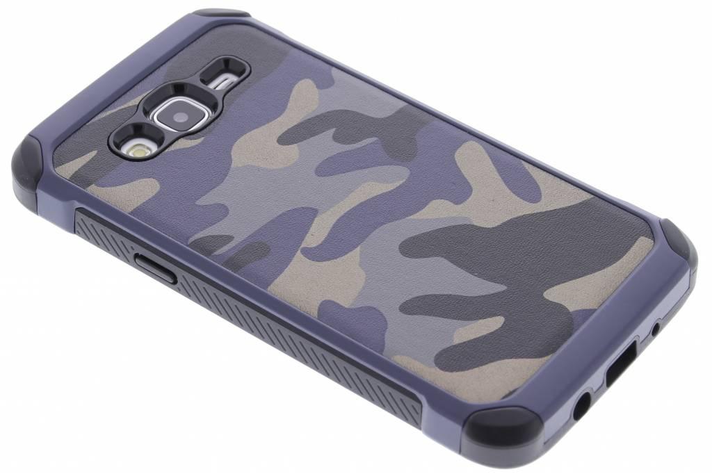 Blauw army defender hardcase hoesje voor de Samsung Galaxy J5