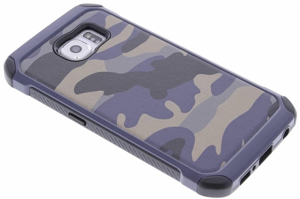 Blauw army defender hardcase hoesje voor de Samsung Galaxy S6