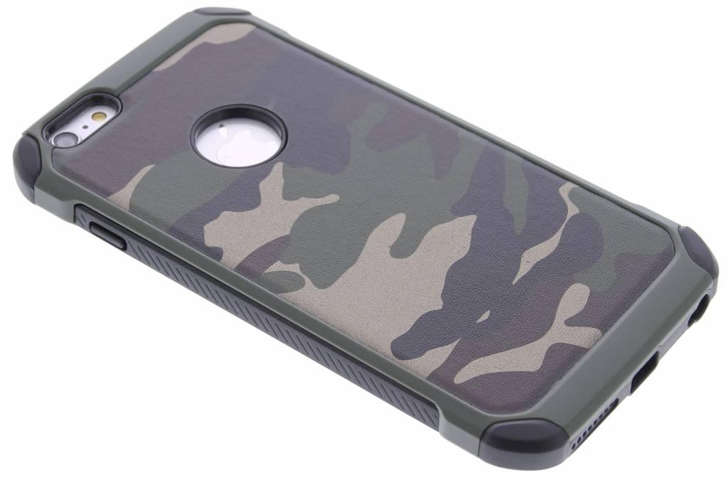 Groen army defender hardcase hoesje voor de iPhone 6(s) Plus