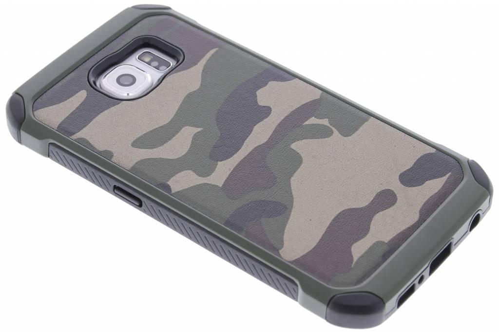 Groen army defender hardcase hoesje voor de Samsung Galaxy S6