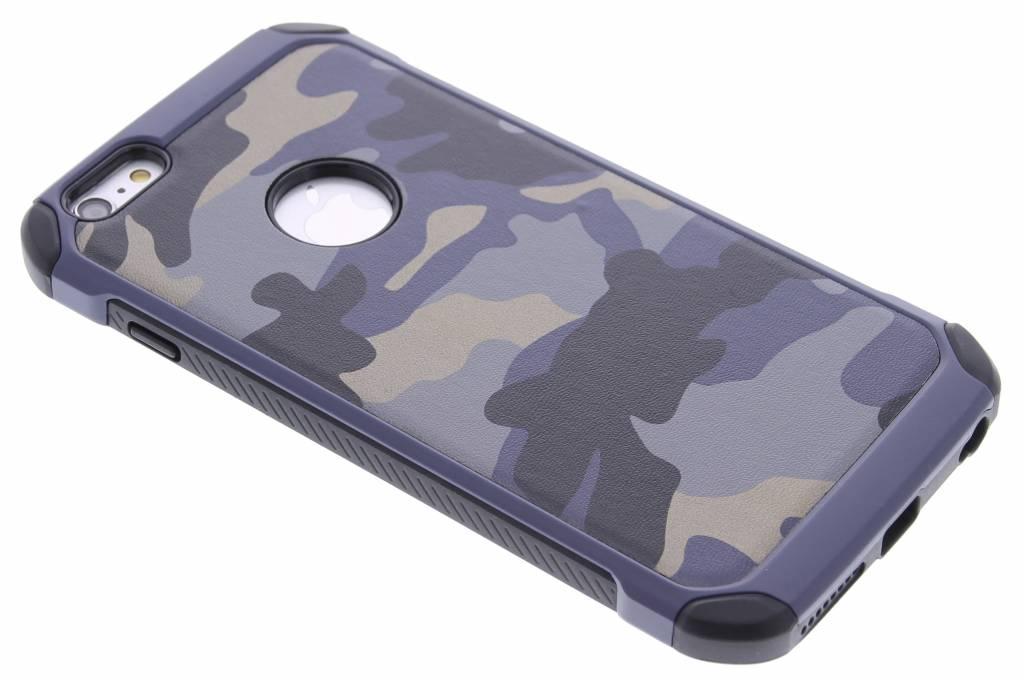 Blauw army defender hardcase hoesje voor de iPhone 6(s) Plus