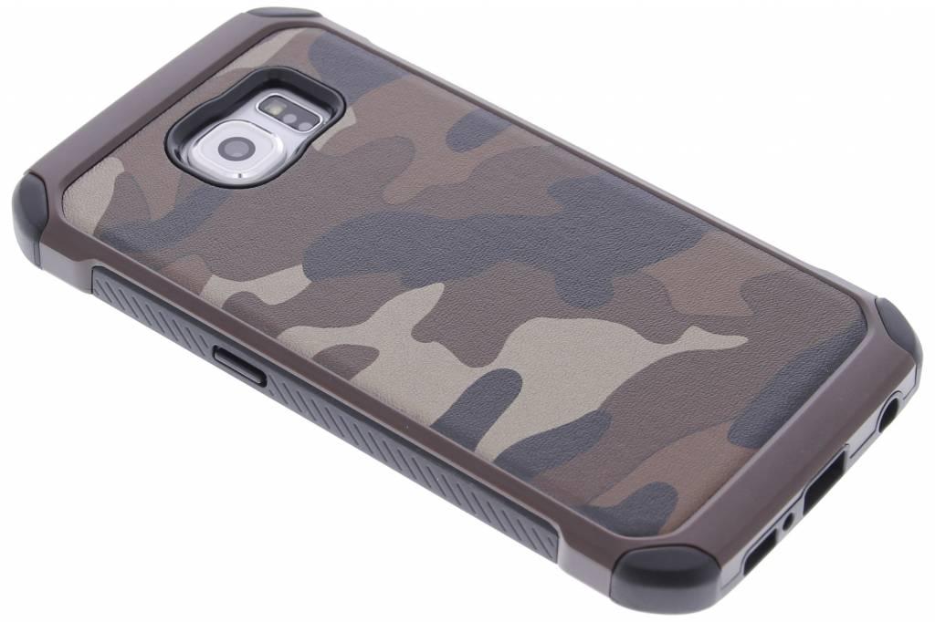 Bruin army defender hardcase hoesje voor de Samsung Galaxy S6