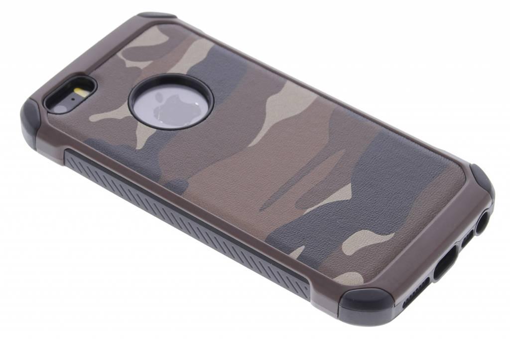 Bruin army defender hardcase hoesje voor de iPhone 5 / 5s / SE
