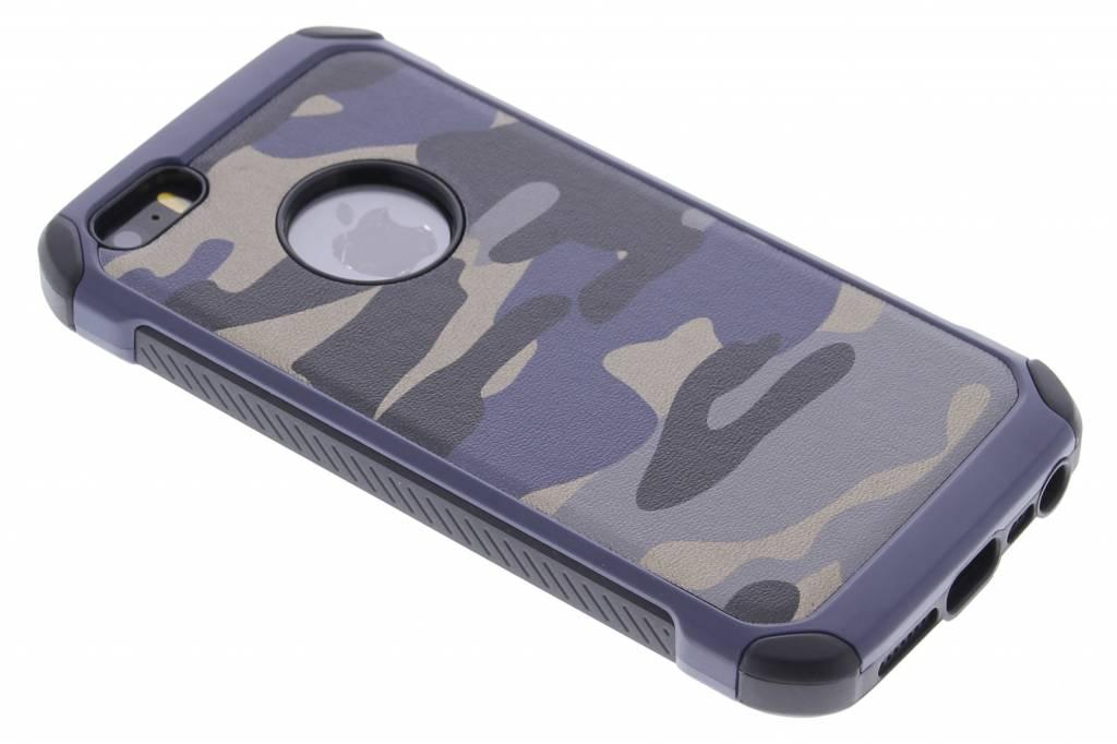Blauw army defender hardcase hoesje voor de iPhone 5 / 5s / SE