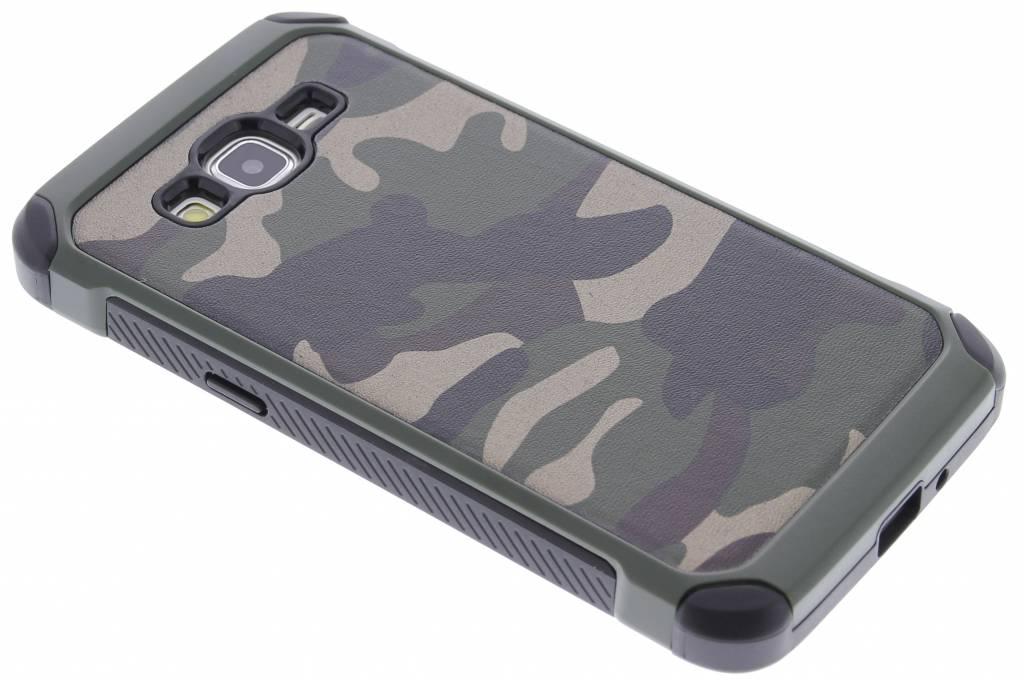 Groen army defende hardcase hoesje voor de Samsung Galaxy Grand Prime