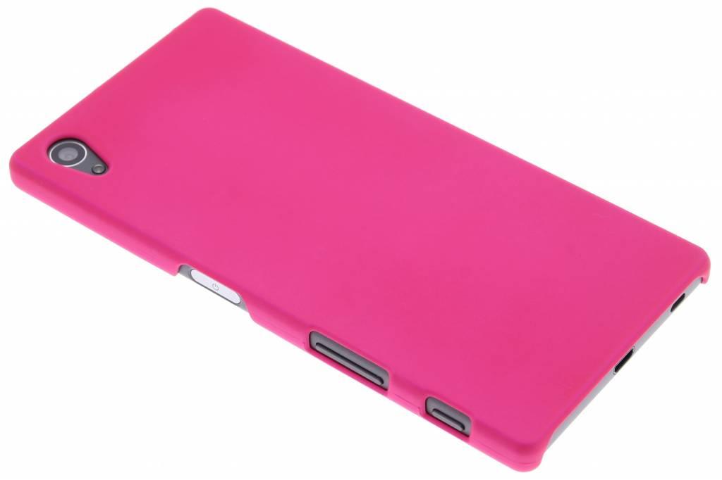 Fuchsia effen hardcase hoesje voor de Sony Xperia Z5