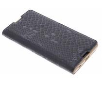 Luxe slangen TPU booktype Sony Xperia Z5
