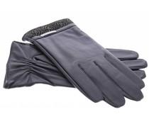 Echt lederen touchscreen handschoenen - maat XXL
