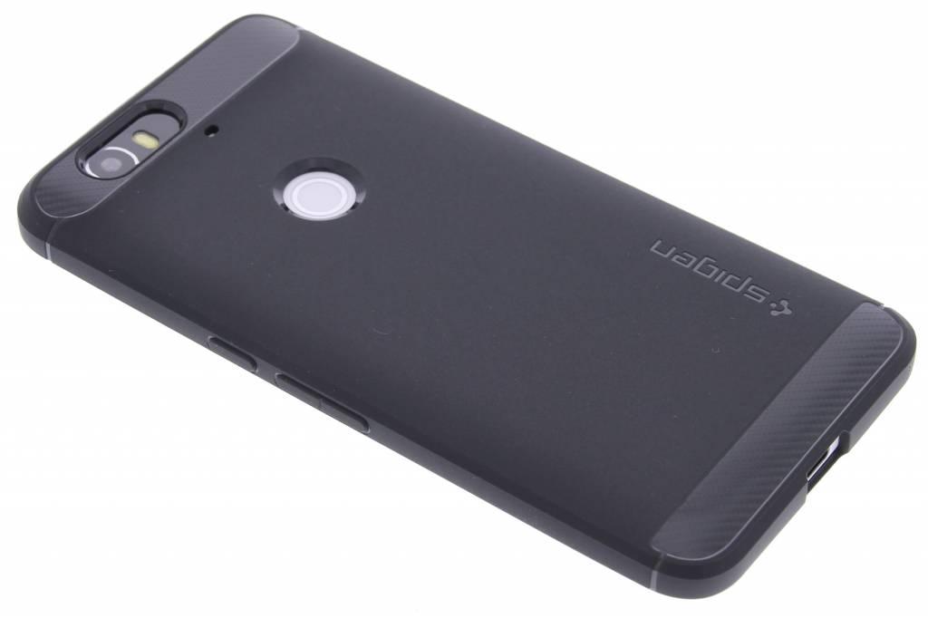 Spigen Rugged Armor Case voor de Huawei Nexus 6P - Black