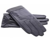 Echt lederen touchscreen handschoenen - maat XL