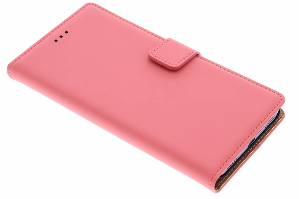 Mobiparts Premium Wallet Case voor de Huawei Y6 - Peach Pink