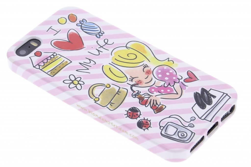 Image of I love my life softcase voor de iPhone 5c