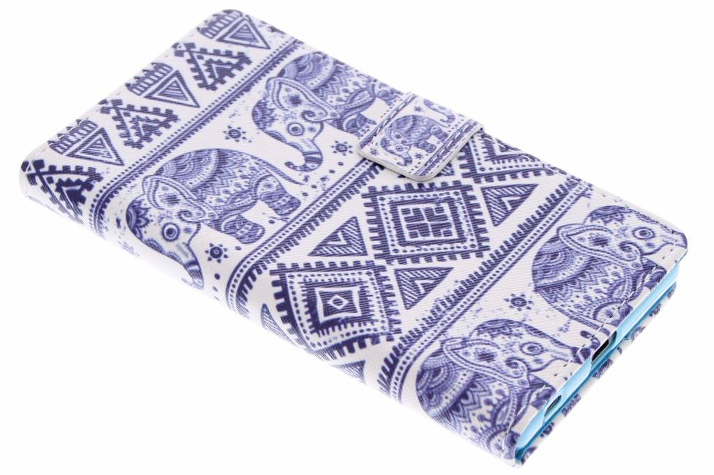 Olifant design TPU booktype hoes voor de Sony Xperia Z5