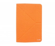 Fonex Reversible Flexy Book Case 7-8 inch - Orange / Black
