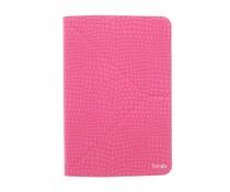 Fonex Reversible Flexy Book Case 7-8 inch - Pink / Black