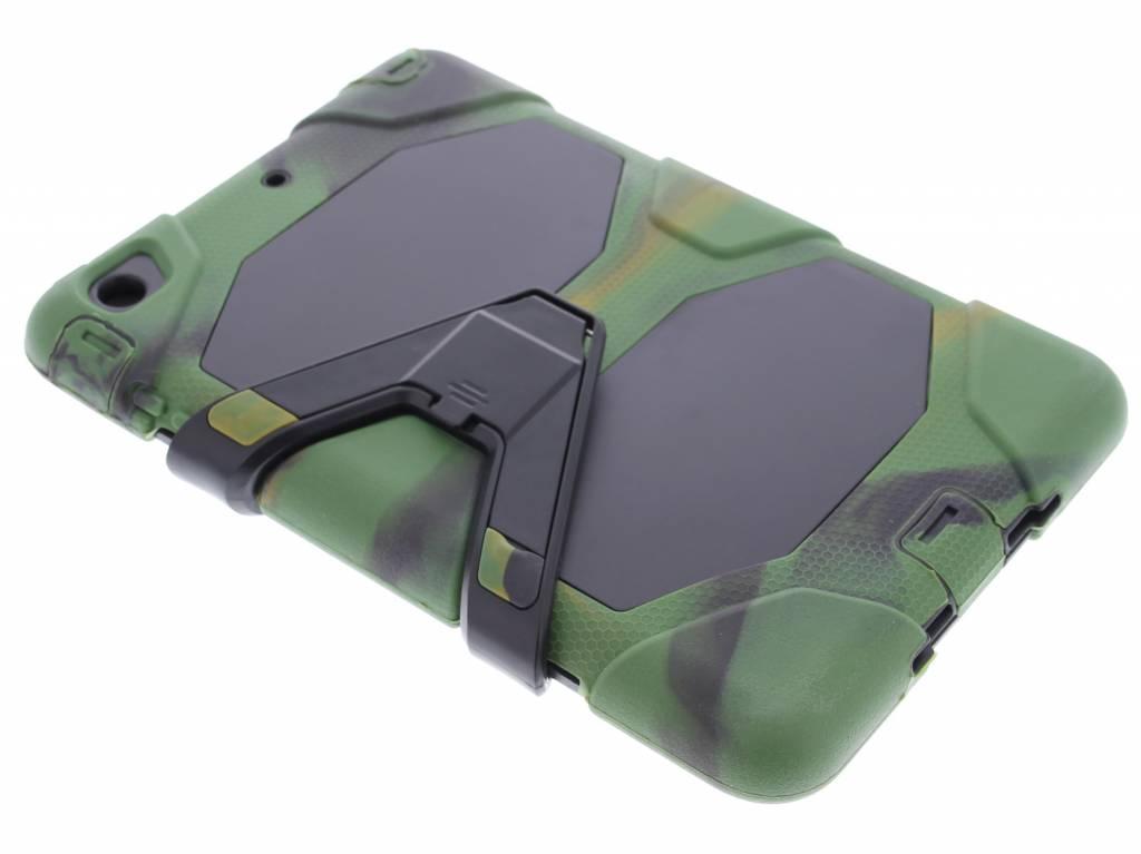 Legergroene extreme protection army case voor de iPad Mini / 2 / 3