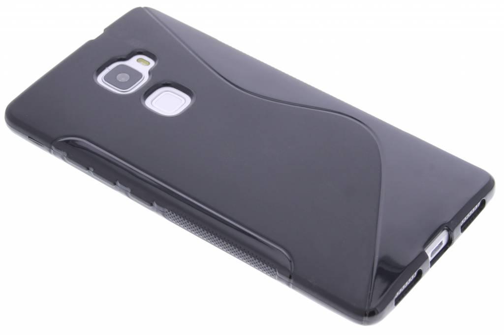 Zwart S-line TPU hoesje voor de Huawei Mate S